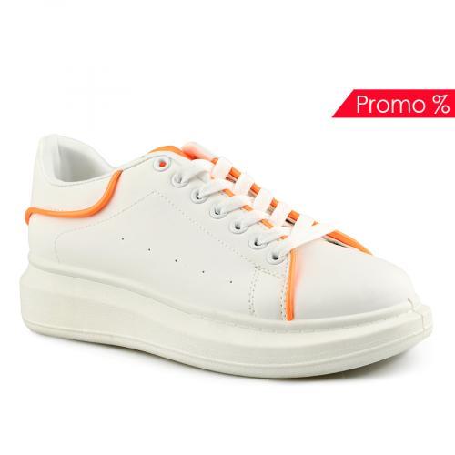 дамски ежедневни обувки бели 0142036