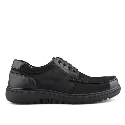 мъжки ежедневни обувки черни 0139498
