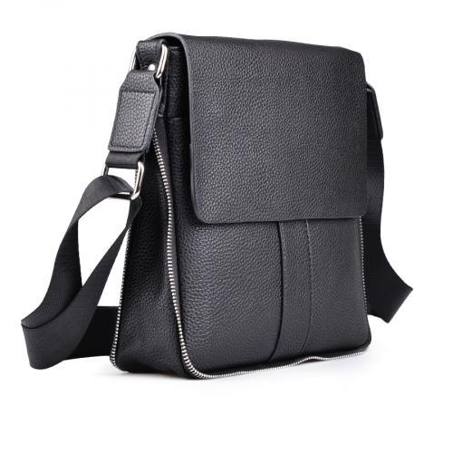 мъжка ежедневна чанта черна 0130636