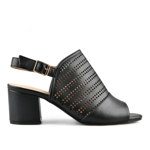 дамски елегантни сандали черни 0143269