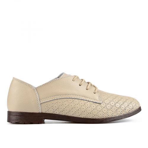 дамски ежедневни обувки бежови 0137207