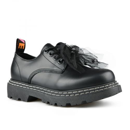 дамски ежедневни обувки черни 0142752