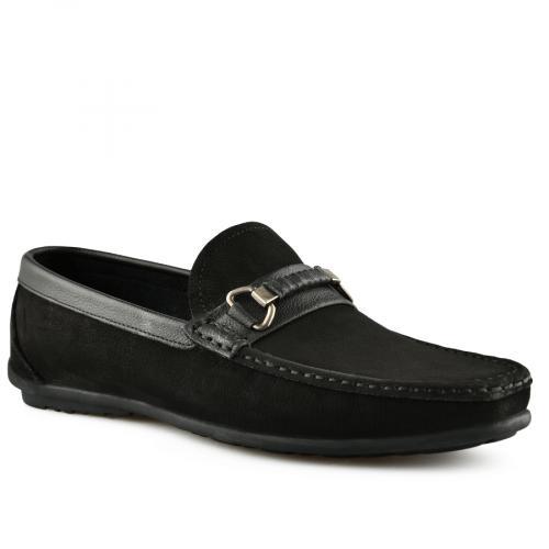 мъжки ежедневни обувки черни 0141252
