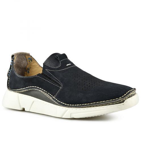 мъжки ежедневни обувки сини 0141183