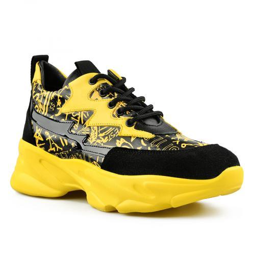 дамски ежедневни обувки жълти 0141159