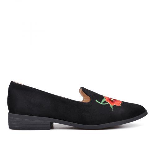 дамски ежедневни обувки черни 0132362