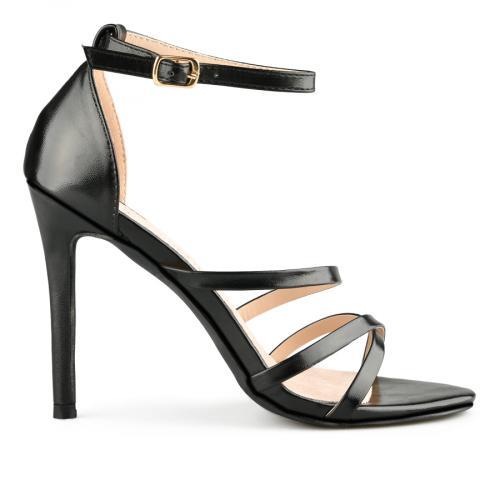 дамски елегантни сандали черни 0140059
