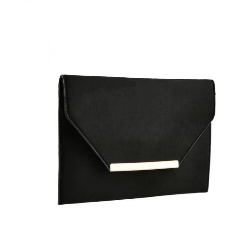 дамска елегантна чанта черна 0139870