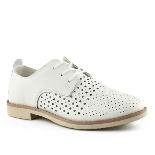 дамски ежедневни обувки бели 0139757