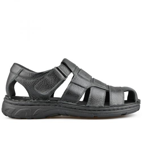 мъжки сандали черни 0136996