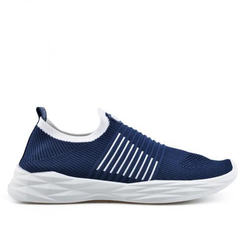 мъжки ежедневни обувки сини 0136945