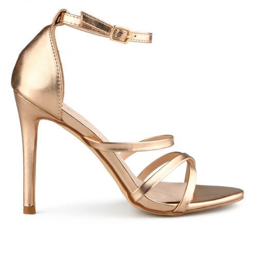 дамски елегантни сандали златисти 0140060