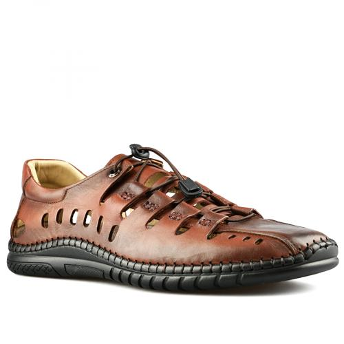 мъжки ежедневни сандали кафяви 0141205