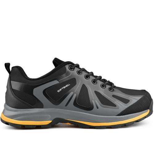 мъжки ежедневни обувки черни 0136202
