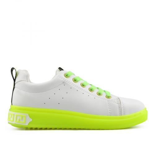 дамски ежедневни обувки бели 0138323