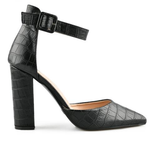 дамски елегантни сандали черни 0140458