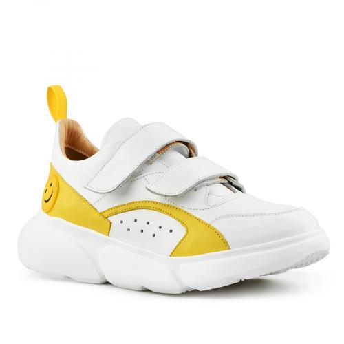 дамски ежедневни обувки бели 0141160