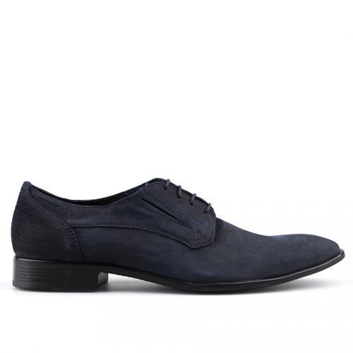 мъжки елегантни обувки сини 0124500