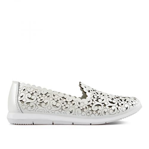 дамски ежедневни обувки бели 0137214