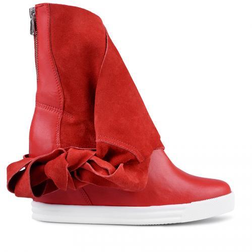 дамски кецове червени 0127625