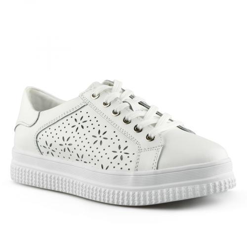 дамски ежедневни обувки бели 0139752