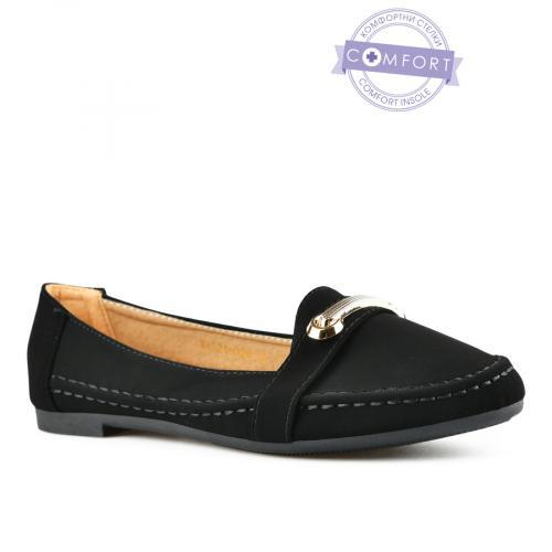 дамски ежедневни обувки черни 0143072