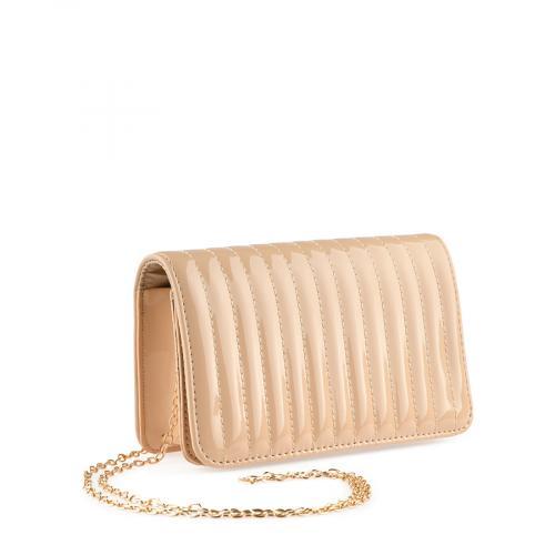 дамска елегантна чанта бежова 0139884