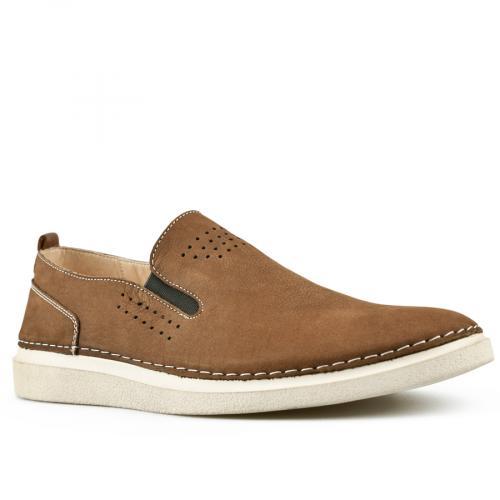 мъжки ежедневни обувки кафяви 0144254
