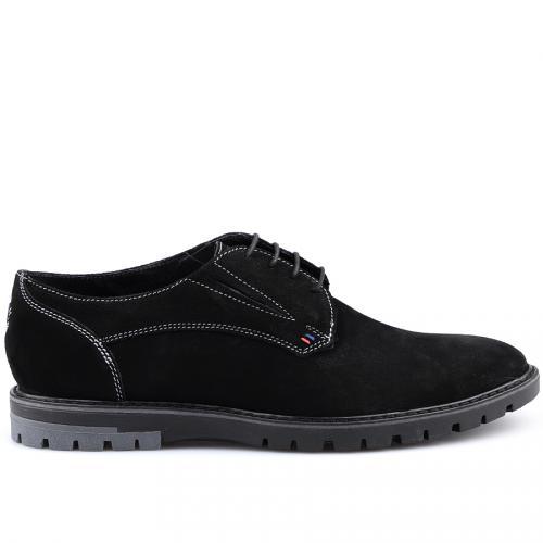 мъжки ежедневни обувки черни 0125876