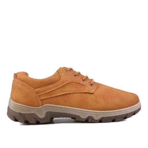 мъжки ежедневни обувки кафяви 0135109