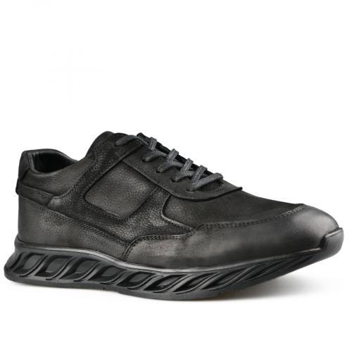 мъжки ежедневни обувки черни 0142137