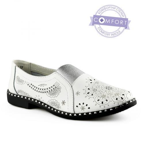 дамски ежедневни обувки бели 0139738