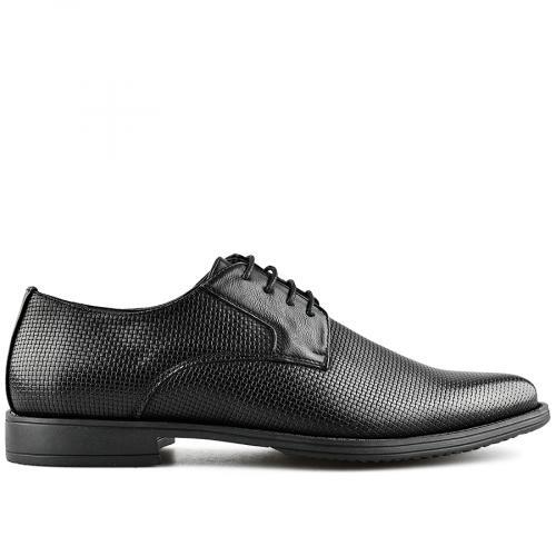 мъжки елегантни обувки черни 0140542