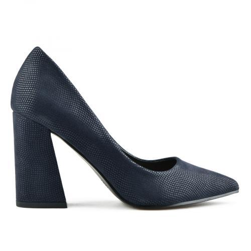 дамски елегантни обувки сини 0141651