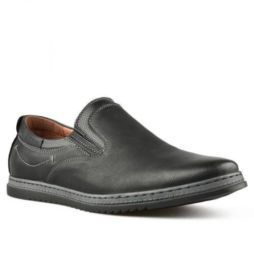 мъжки ежедневни обувки черни 0144800