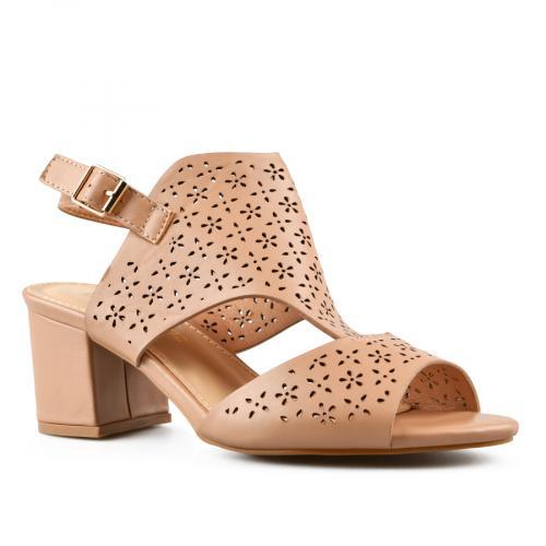 дамски елегантни сандали кафяви 0143275