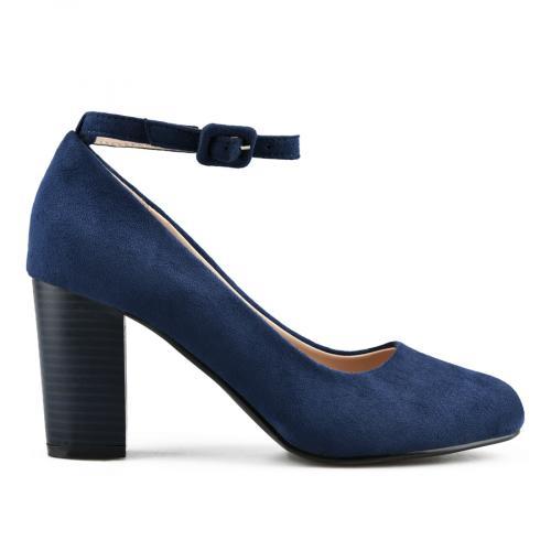 дамски елегантни обувки сини 0141642