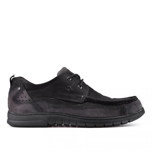 Мъжки ежедневни обувки черни 0128784