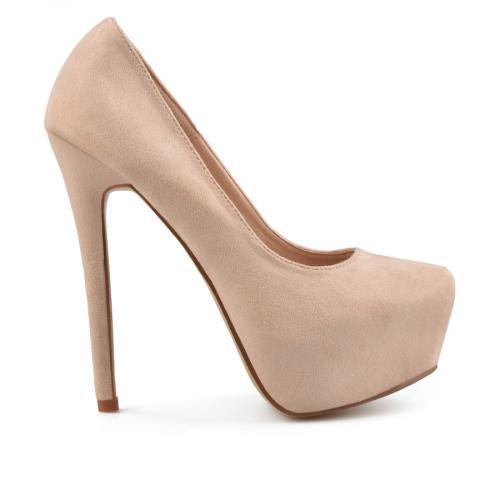 дамски елегантни обувки бежови 0138089