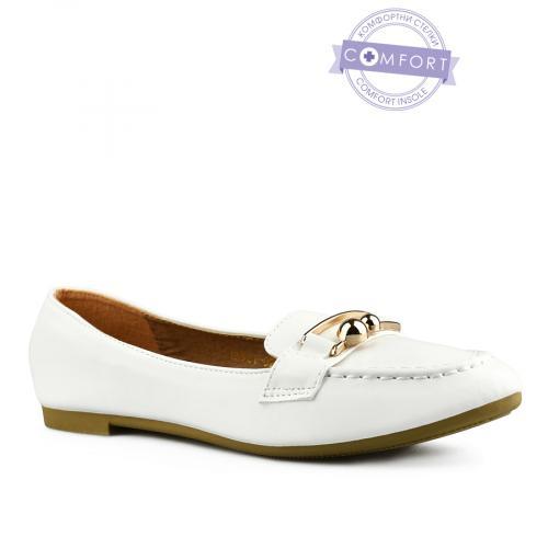 дамски ежедневни обувки бели 0143074