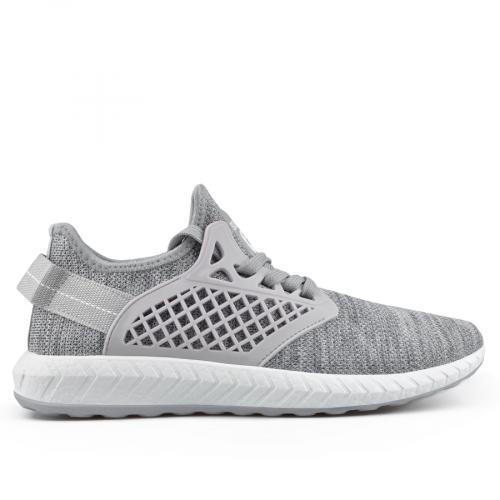 мъжки ежедневни обувки сиви 0136915