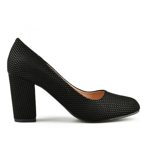 дамски елегантни обувки черни 0145035