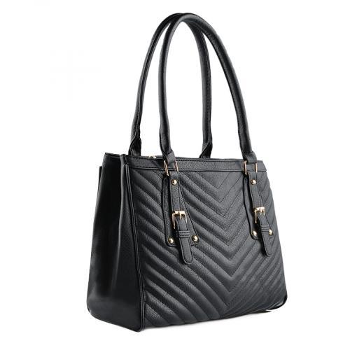 дамска ежедневна чанта черна 0139457