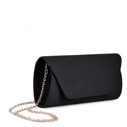 дамска елегантна чанта черна 0134387