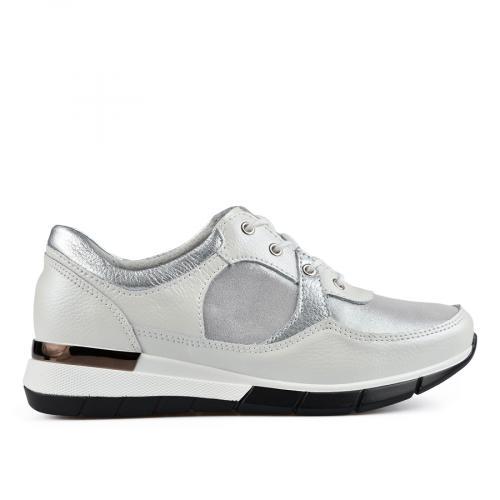 дамски ежедневни обувки бели 0137194