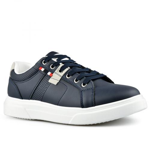 мъжки ежедневни обувки сини 0142630