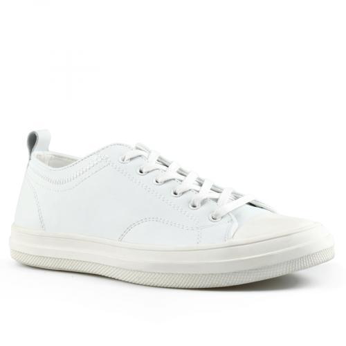 мъжки ежедневни обувки бели 0143469