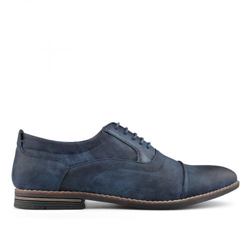 мъжки елегантни обувки сини 0139076