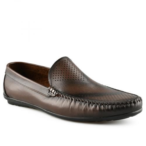мъжки ежедневни обувки кафяви 0141238