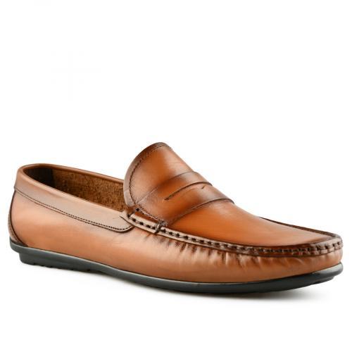 мъжки ежедневни обувки кафяви 0141231